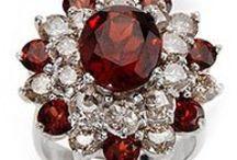 January Birthstone Jewelry Garnet / by Gemizen