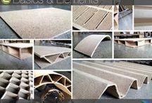 Nachhaltige Produkte gestalten - Neuer Faserwerkstoff ECOR® / ECOR® ist in Deutschland ein neuer ökologischer Werkstoff. Zellulosefaser selektierter Kartonage, Zeitschriften und landwirtschaftlicher Nebenprodukte lassen durch Platten-, Wellen-, Waben- und Kurvenelemete Produkte für Architektur/Innenausbau, Displays, Verpackung,Möbel-, Laden-,Bühnenbau mit hoher Stabilität entstehen - deutlich leichter, absolut ohne Schadstoffe wie Formaldehyd o.ä. und 100% recyclebar. Haben Sie Produkte-, Anwendungen oder Ideen? - Wir unterstützen Sie mit ECOR®