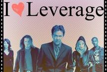 Let's go steal Leverage. / by Leslie Peterson