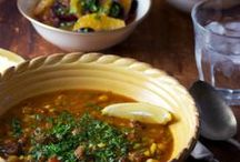 Soup-er Soups / Fill your belly with the wonderful warming  goodness of soups and broths.