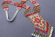 BEAD ROPE AND PEYOTE PATTERNS