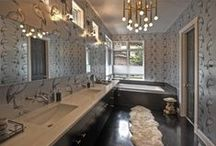Bath and Vanity / A difficult room to light! But we've got your project covered.