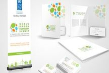 Branding For World Green Economy Summit / Planet Green Solutions Provides Following Services For World Green Economy Summit 1) Responsive Dynamic Website Design 3) Complete Branding (Brochure Design, signage, Letterhead, Business Card, Envelope, Email Signature, Product Packing etc)