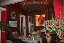 Patios and outdoor entertainment