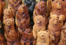 Wood Carving / Woodcarvings and ideas for woodcarving from all around the world