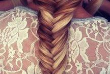 Hiukset ja kampaukset / Inspiroivia kuvia kauniiden kutrien ja kampausten maailmasta