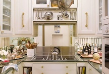 Small Kitchens / Smaller kitchens don't have to be short on style. They're efficient, easily accessible and can be just as stylish as their larger counterparts!  | www.cdgdesign.com