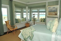 Coastal Bedrooms / Often used as a retreat, our bedrooms are where we begin and end our day and where we find respite from the world outside our door. | www.cdgdesign.com