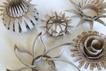 Paper Roll Arts / Wcrolletjeskunst / Amazing to see what you can make out of paper rolls! Echt gaaf wat je allemaal kunt maken met simpele wc-rollen!