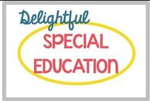 DELIGHTFUL Special Education / Everything I might need for my special education special day class!
