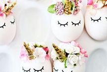 * E A S T E R * / All about Easter decorations, food, DIY...