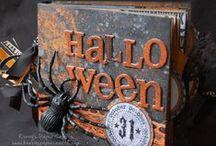 * S C R A P - H A L L O W E E N * / Scrapbooking for Halloween. Ideas