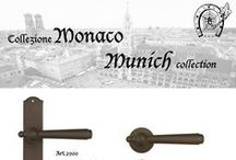 """Munich"" collection - Traditional Hardware / ""Munich"" Colllection range of traditional hardware products from Galbusera. A collection of door and window furniture finished in 13 different finishes to suit both traditional and contemporary style homes. Hand crafted in Italy."