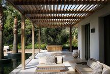 Terrasse, espaces exterieurs