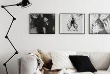 Interior: Black 'nd white