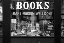 """Book Shops / """"There is nothing like the smell of a bookstore. If you ask me, it's actually a combination of smells: part library, part new book, and part expectation for what you might find.""""  ― Kathryn Fitzmaurice, Destiny, Rewritten"""