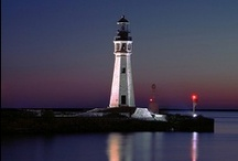 """To The Lighthouse / """"Yes, she thought, laying down her brush in extreme fatigues, I have had my vision.""""  ― Virginia Woolf, To the Lighthouse"""