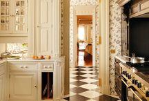 cozy kitchens.