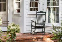 perfect porches. / porches, sunrooms, etc.