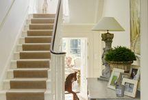 hallways + stairways
