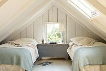 attics + basements
