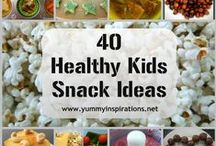 Healthy Snacks For Kids / A collection of my favourite healthy snack ideas for kids