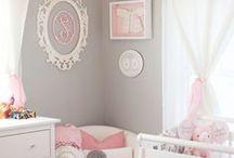 Interior: Babyroom girls