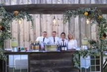 Outdoor wedding settings / Beautiful outdoor wedding settings and related ideas