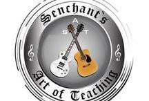 "Senchant's Art of Teaching / Welcome to Senchant's Art of Teaching! At Senchant's Art of Teaching, We offer ""the areas finest guitar, vocal, piano, bass, violin, mandolin, ukulele & drum lesson program!"""