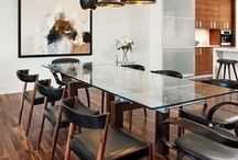 Dining Room Ideas / These gorgeous dining room ideas below can make any dinner party look and taste better. Even if the guests show up without warning. Don't know how to adapt them in your home? Then we can help connecting you with an Interior Designer! Check out homeyou.com for more details!
