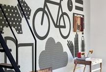 Creative Wall Art / Wall art is one of those things that can transform your house from blah to WOW. Take a look at these gorgeous pins and take the inspiration to add some to your house!