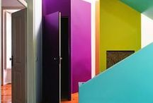 Colors - Make It Bold / Everything looks better with color, so let's add them up and make the space more powerful, breathtaking and unforgettable! Btw, we add colors all the time at homeyou.com =)
