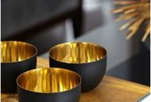 Stay Gold / Gold is the best color, so why not add the glam to your home decor too?