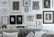 Classic Black & White / Basic doesn't mean boring. This elegant combination is timeless, and it looks incredible in any room. Even if it was just a compromise because your S.O. and you couldn't decide on a color!