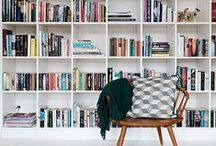 To Read or Not To Read / These bookcases are the perfect resting place for all those books you bought that you'll never read. Btw, we design dreamy bookcases all the time at homeyou.com