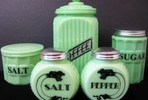 Jadeite Glass / Jadeite first became all the rage in the 1940's and 50's when the United States was recovering from World War II It has now become a popular antique. / by Ginger Hill