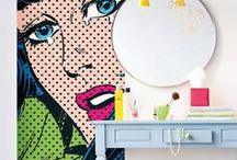 Pop Art / Pop art is everything you love: it's fun, it's colorful, it's dreamy... It's what your home needs!
