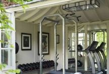 Home Fitness Gym / No more excuses! If you have a nice home gym like these, you won't skip it anymore! Since you're here, check out homeyou.com and let's start building your home gyme today! (run, before it passes!)