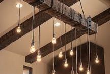 Beam me up! (Beams) / Instead of hiding the beams, let them shine and show what your house is all about! They will add style and personality to any room they're in. Don't be afraid to show your beams!