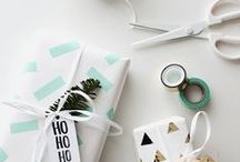 Gift Wrapping Lust / Creative and different gift wrapping ideas and inspiration. Unique, fun, cute ways to wrap presents.