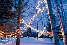 Bright Holiday Lights / Make the holidays truly magical with these incredible lighting ideas! They'll brighten up the day and make the house the most beautifully decorated one of the block!