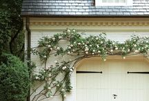 carport, driveway, + garage.