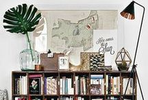 Bookshelves of my Dreams / Bookshelf inspiration and library love. Photos of some of my favourite bookish spaces.