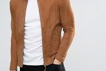 Men's Jacket / Coat (By Clark F.) / Jacket, Coat, Coats, Leather, Blazer, Wear, Clothes, Fashion, Vogue, Trend, Style, Trendy, Sports, Accessories, Men, Male, Man, Masculine,... ///  Accesorios, Chaqueta, Sacos, Chamarra, Ropa, Moda, Tendencia, Estilo, Hombres, Masculino, etc.