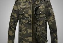 Men's Military / Camo Style (By Clark F.) / Militar, Military, Militaries, Army, Camouflage, Jacket, Sweater, Coat, Coats, Shoes, Sneakers, Boots, Watch, Watches, Shirt, Shirts, T-shirts, Short, Shorts, Wear, Clothes, Fashion, Vogue, Trend, Style, Trendy, Sports, Accessories, Men, Male, Man, Masculine,... ///  Militar, Militares, Armada, Camuflajeado, Camuflajeados, Camuflaje, Camuflado, Accesorios, Zapatos, Botas, Camisa, Camisas, Chaqueta, Suéter, Sacos, Reloj, Relojes, Ropa, Moda, Tendencia, Estilo, Hombres, Masculino, etc.