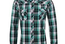 Men's Plaid Shirt (By Clark F.) / Shirt, Shirts, T-shirts, Plaid Shirt, Wear, Clothes, Fashion, Vogue, Trend, Style, Trendy, Sports, Accessories, Men, Male, Man, Masculine,... ///  Accesorios, Camisa, Camisas, Ropa, Moda, Tendencia, Estilo, Hombres, Masculino, etc.