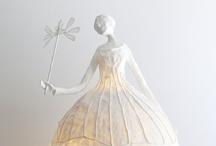 Sculpture de papier-origami