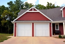 Carriage House Garage Doors by C.H.I. Overhead Doors / Garage doors for any home by C.H.I. Overhead Doors