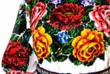 """Ukrainian embroidery. /  Не мода це й не дивна забаганка... Нелегко нашим недругам збагнуть, Чим є для українця """"вишиванка""""? І що у ній за таємнича суть?  Нитки, неначе мрії кольорові, Вплелися в долі біле полотно... Вона - це символ віри і любові, Що нам Господь вручив колись давно...  Вона пропахла вітром і грозою, Вогнем і житнім хлібом на столі, Солоним потом, згірклою сльозою, І кров""""ю, українців на землі.   / by ZhuDem"""