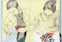 Art and Illustrations - People / by Maija Orava